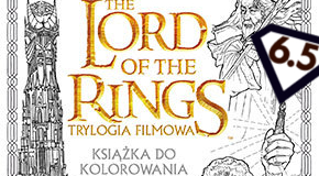 The Lord of the Rings. Trylogia filmowa. Książka do kolorowania