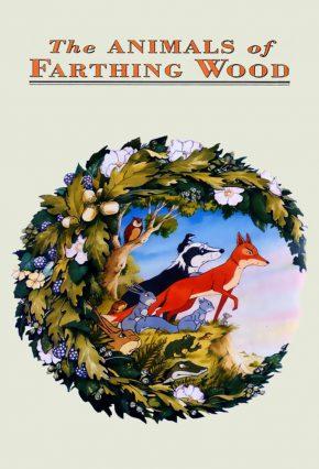 zwierzęta z zielonego lasu plakat
