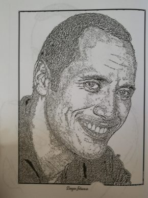 Dwayne Johnson Coloring Book