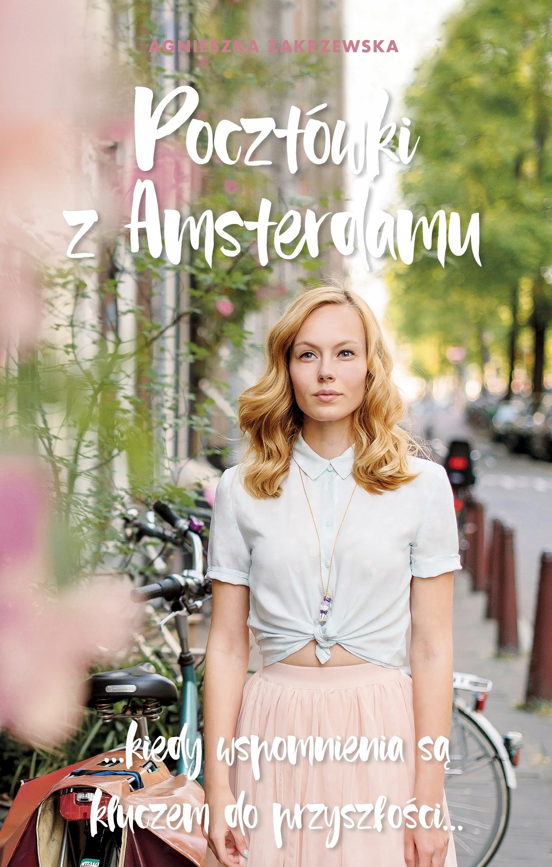 pocztówki z amsterdamu okładka